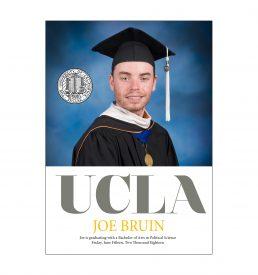UCLA Standout Graduation Announcement