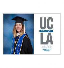 UCLA StaggeredGraduation Announcement