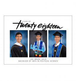 Big Year Graduation Announcement