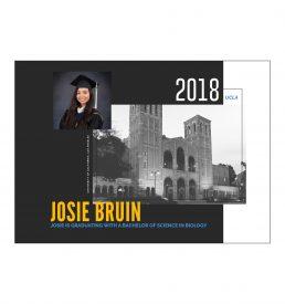 Royce Hall Graduation Announcement